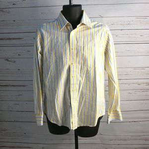 Gap Classic Fit Striped Button Down Long Sleeve